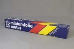 Aluminium rol folie 30cm x 30m.
