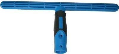 Kunststof T bar 35 cm met water gleuven en soft Ergonomic twee componenten greep