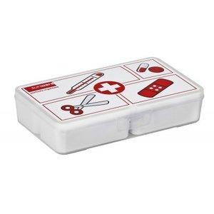 EHBO assortimentsdoos met 4 uitneembare bakjes (1x0,15L+2x0,35L+1x0,65L), Sunware
