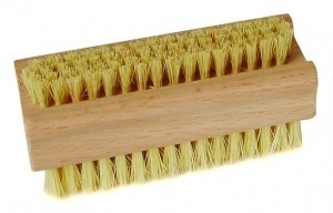 Nagelborstel kunstvezel, hout