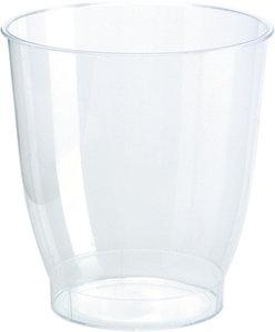 Glas 15 cl tot de rand 20 cl. Crystallo