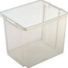 Opbergbox Nesta 45,5 x 36 x 36 cm 45 ltr. transparant
