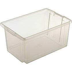 Opbergbox Nesta 59,5x 39,5 x 28 cm 51 ltr. transparant