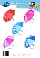 Paraplu 65 cm Disney (Minny mouse, Micky mouse, Princes, Cars)