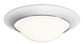 Verlichtingsarmaturen Cosmo 340 wit Detect sensor