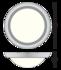 Verlichtingsarmaturen Cosmo 300 wit Detect sensor _